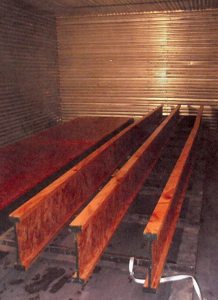 Fire Retardant Flooring : Fire rated i joists retardant osb flame